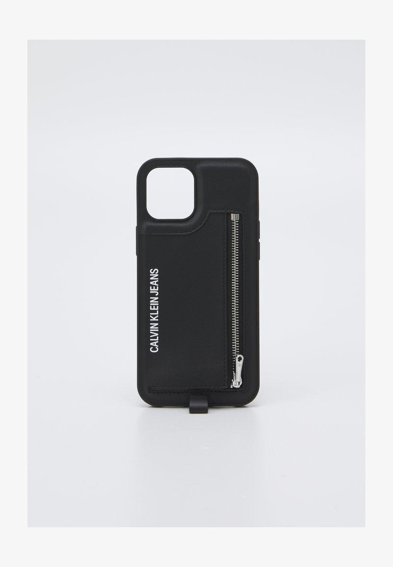 Calvin Klein Jeans - PHONE CASE LANYARD COIN UNISEX - Étui à portable - black
