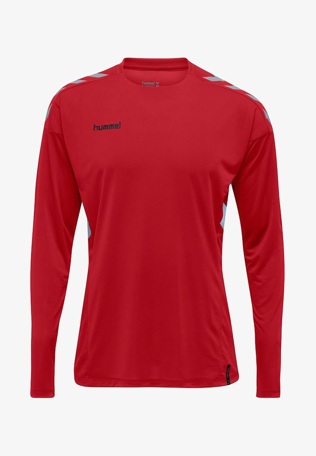 TECH MOVE - Long sleeved top - true red