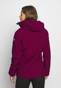 Regatta - WENTWOOD 2-IN-1 - Outdoor jacket - purpot - 2