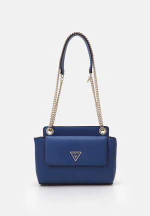 SANDRINE CONVERTIBLE CROSSBODY - Across body bag - blue