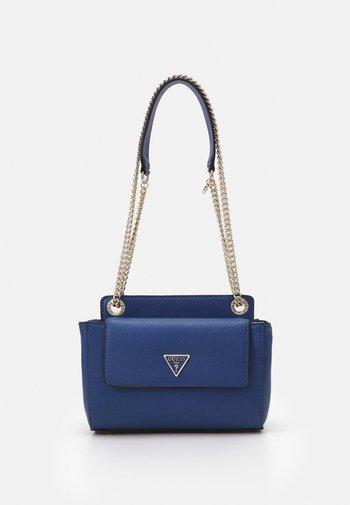SANDRINE CONVERTIBLE CROSSBODY - Across body bag - blue