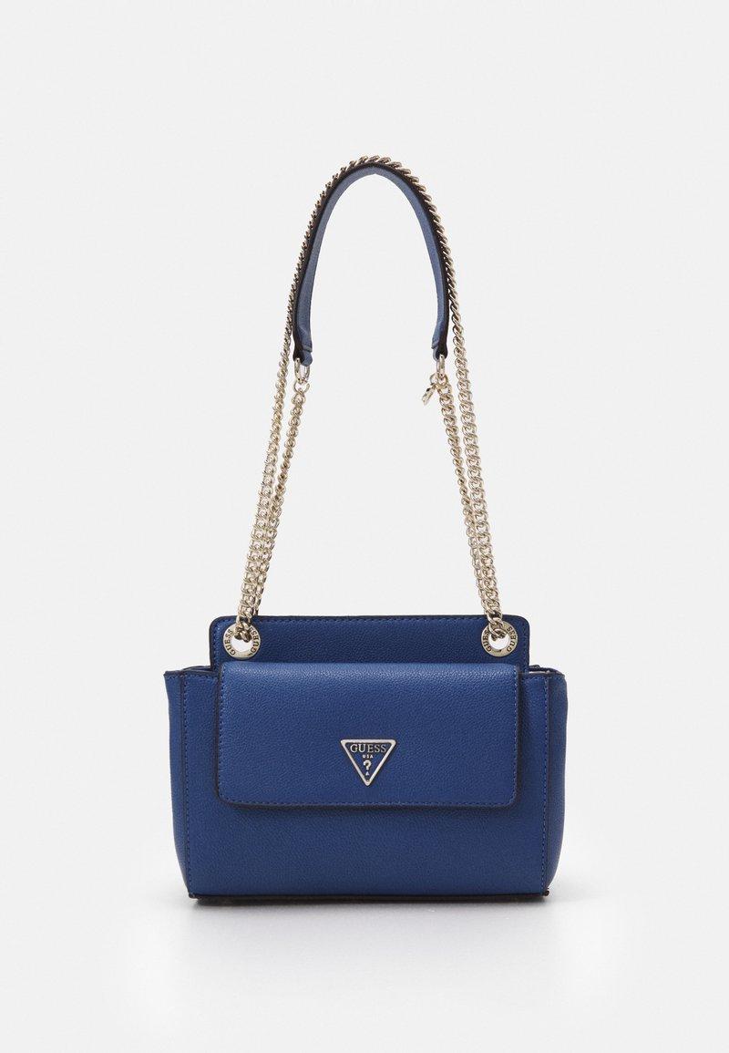 Guess - SANDRINE CONVERTIBLE CROSSBODY - Across body bag - blue