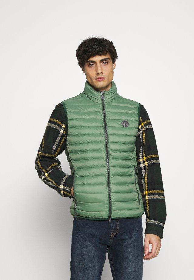 REGULAR FIT - Bodywarmer - basalt green