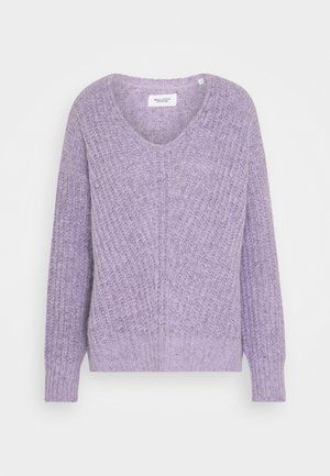 Jumper - peached purple