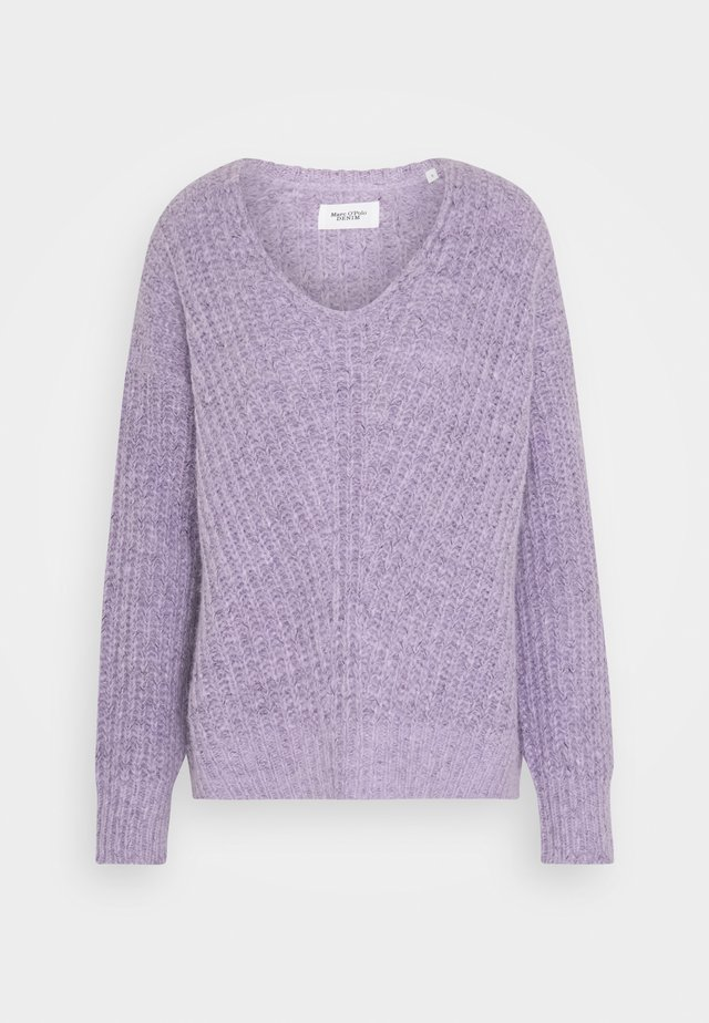 LONG SLEEVE - Neule - peached purple