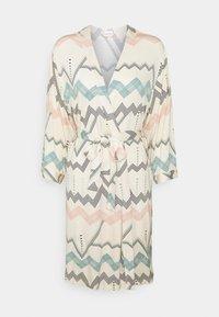 LASCANA - NATIVE KIMONO - Dressing gown - light beige - 0