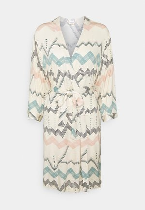 NATIVE KIMONO - Dressing gown - light beige