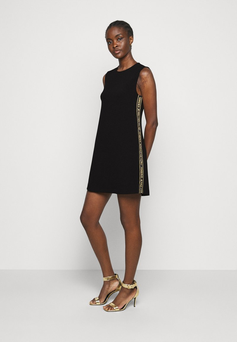 Versace Jeans Couture - LADY DRESS - Shift dress - black