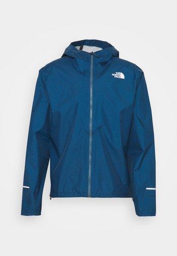 FIRST DAWN PACKABLE JACKET MONTER - Hardshell jacket - monterey blue