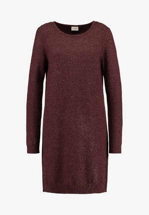 Jumper dress - winetasting/melange