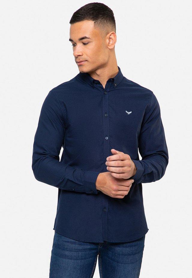 OXFORD BEACON - Shirt - dunkelblau