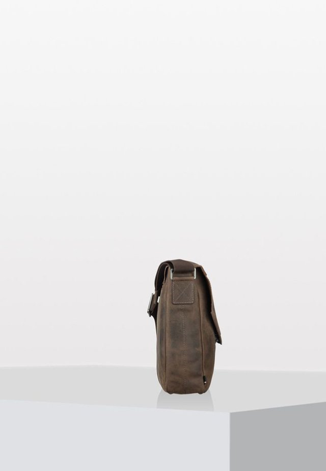 HUNTER - Sac bandoulière - dark brown