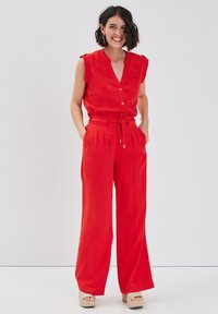 Cache Cache - Trousers - rouge - 0