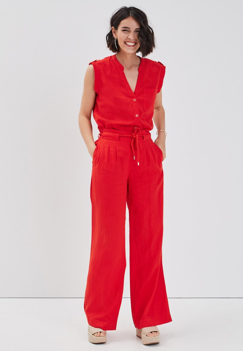 Cache Cache - Trousers - rouge