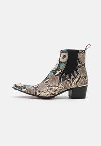 Jeffery West - SYLVIAN NEW CHELSEA UNISEX - Cowboy/biker ankle boot - dark blue - 0