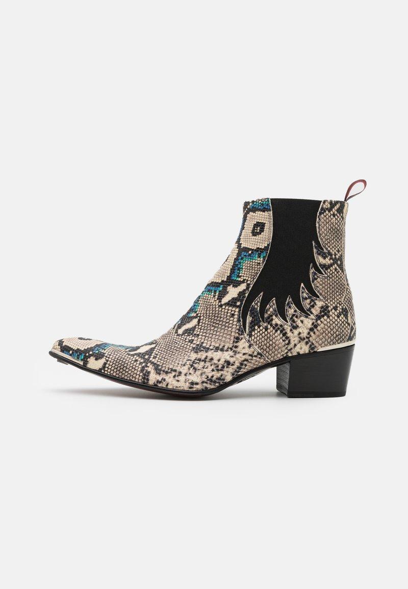 Jeffery West - SYLVIAN NEW CHELSEA UNISEX - Cowboy/biker ankle boot - dark blue