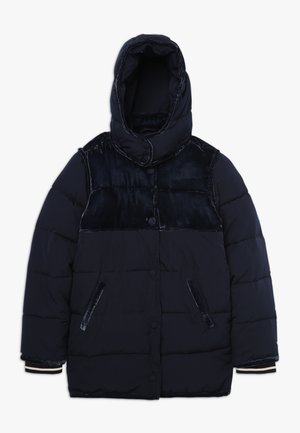 LONGER LENGTH PADDED JACKET WITH CONTRAST  - Zimní bunda - night