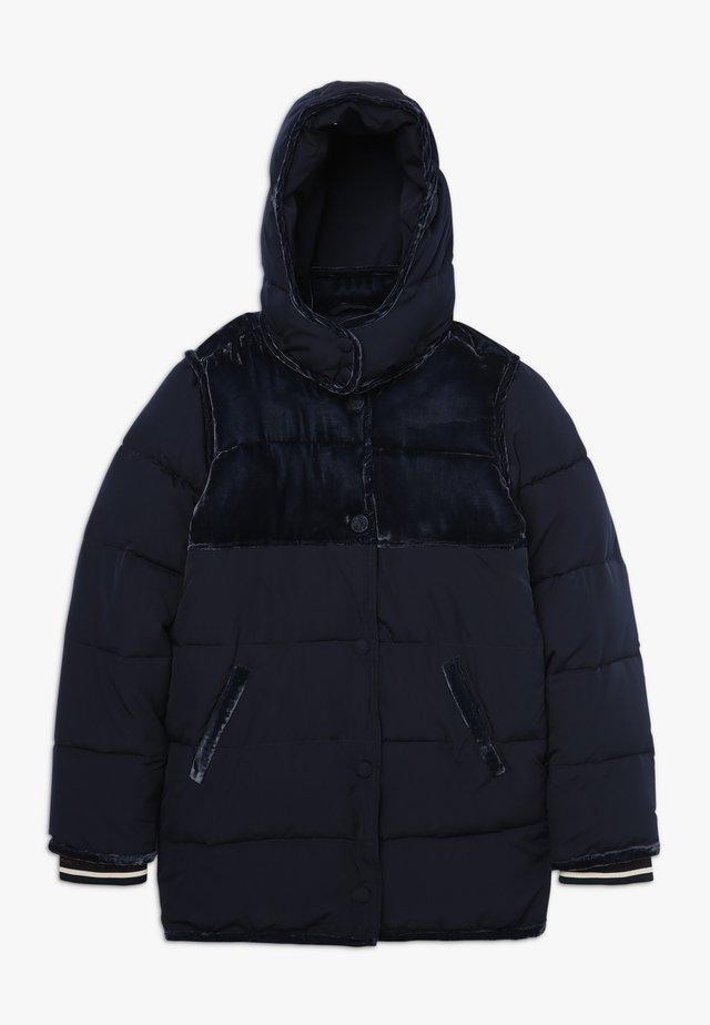 LONGER LENGTH PADDED JACKET WITH CONTRAST  - Zimní bunda - night