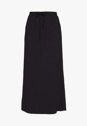 VIDELL - Maxi skirt - black