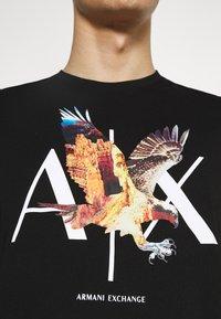 Armani Exchange - T-shirt print - black - 6