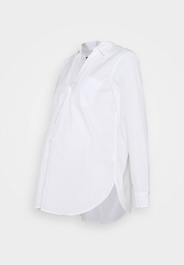 POPLIN - Blouse - optic white