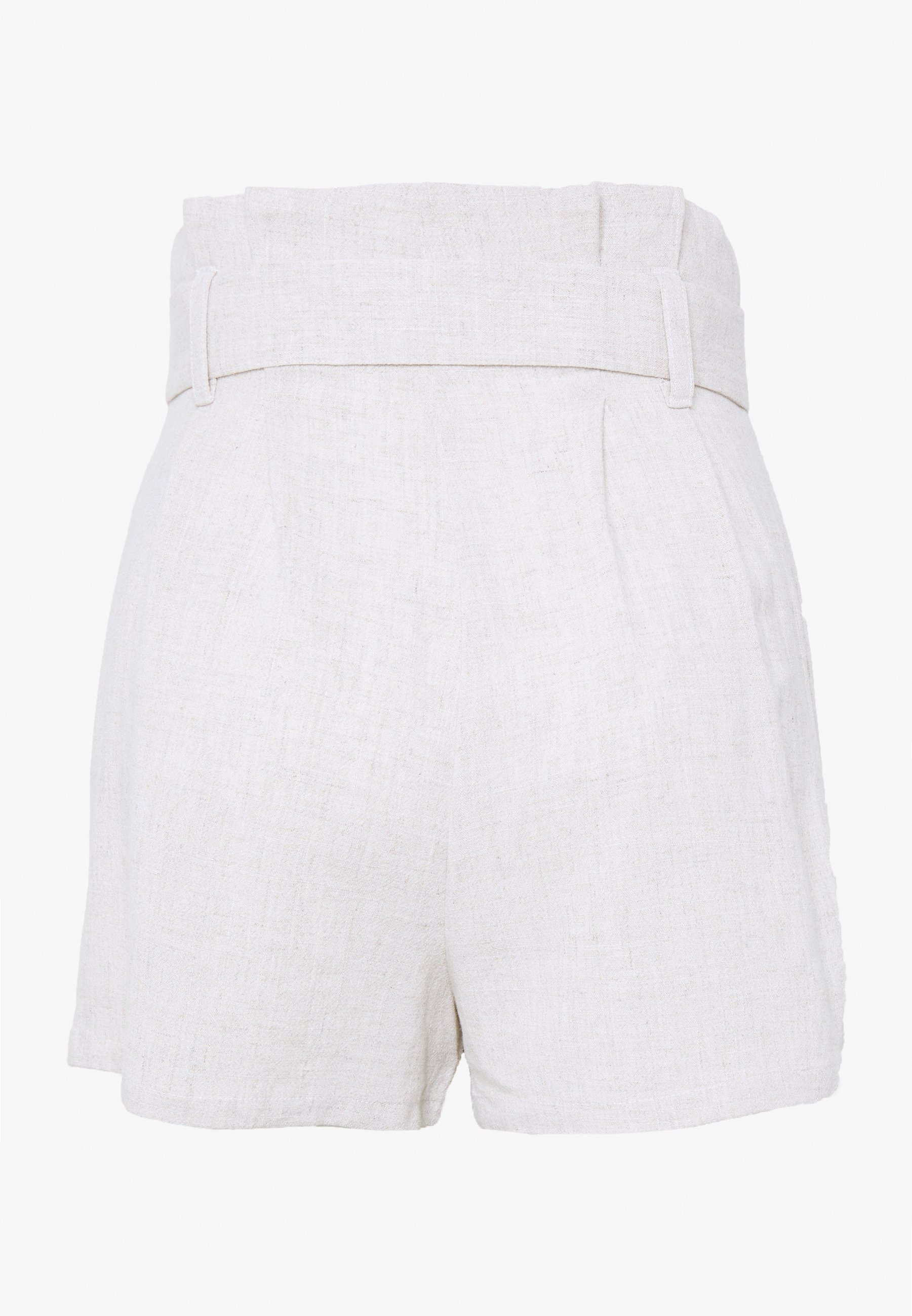 Nly By Nelly High Waist - Shorts Beige