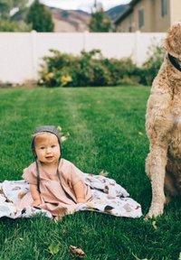Little Unicorn - Muslin blanket - woof - 2