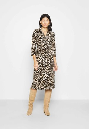 ANIMAL SHIRT DRESS - Day dress - neutral