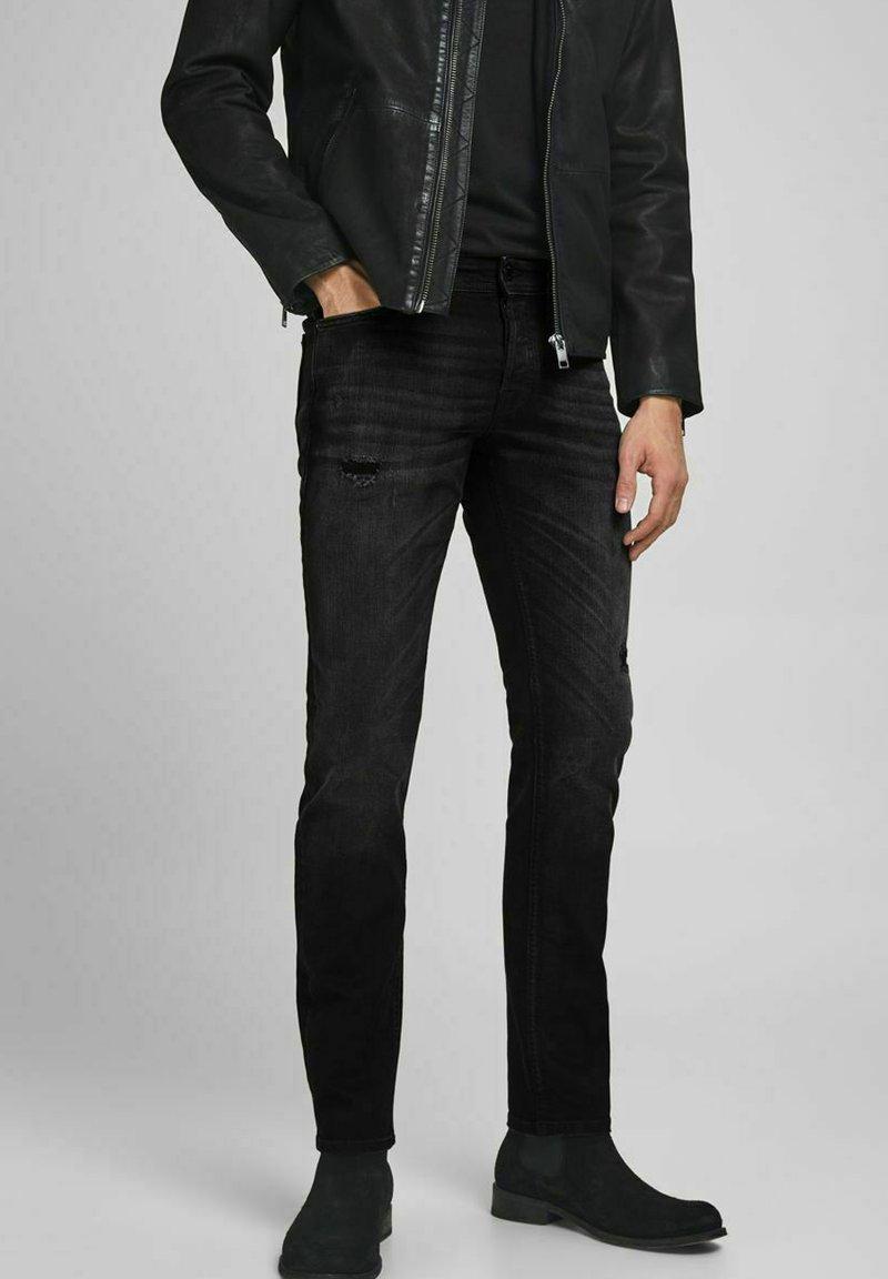 Jack & Jones - Slim fit jeans - black denim