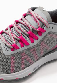 The North Face - ULTRA SWIFT - Neutral running shoes - griffin grey/pink - 5