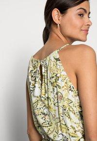 TOM TAILOR - DRESS AMERICAN NECKLINE - Maxi dress - green - 3