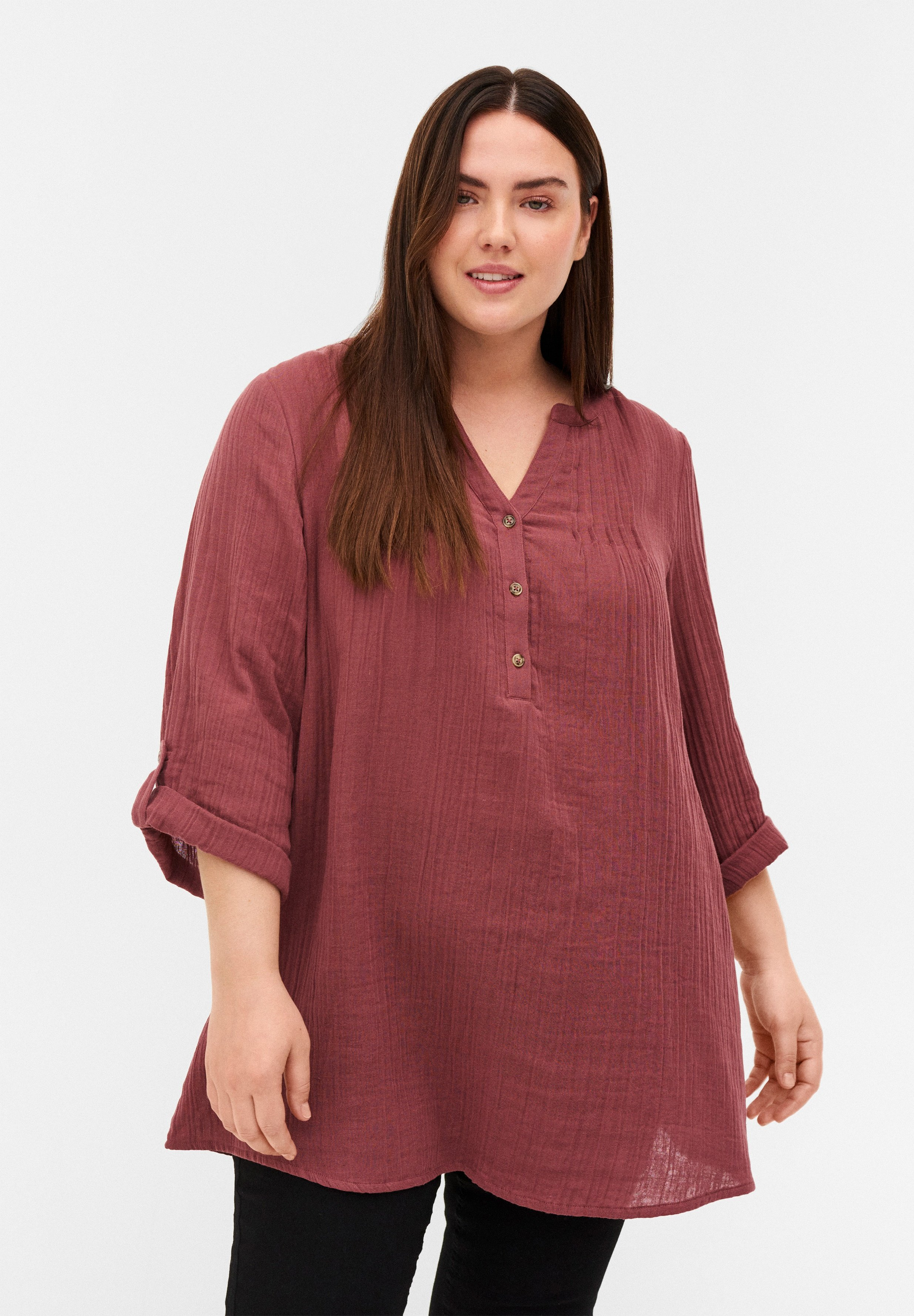 Femme 3/4-LENGTH SLEEVES - Tunique