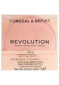 Make up Revolution - CONCEAL & DEFINE POWDER FOUNDATION - Foundation - p0.2 - 4