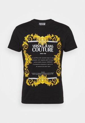 MOUSE - Print T-shirt - nero