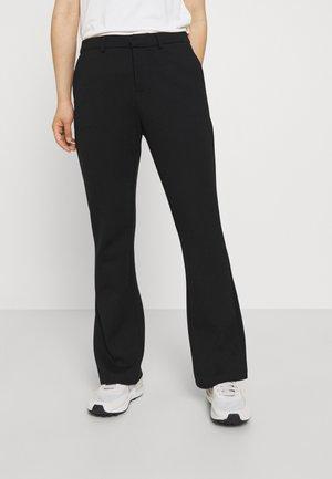 ONLELORA PANT - Bootcut jeans - black