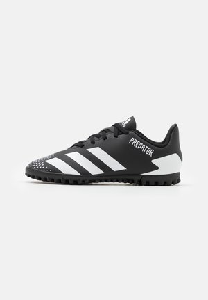 PREDATOR 20.4 FOOTBALL BOOTS TURF UNISEX - Astro turf trainers - core black/footwear white/core black