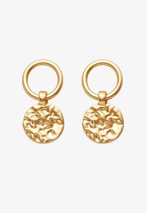 AMBER SIMPLE - Korvakorut - gold plating