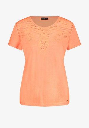 T-shirt print - papaya