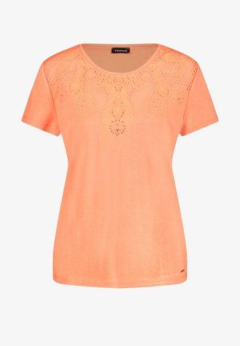 Camiseta estampada - papaya