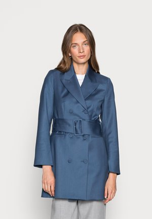 AVENA GRAIN - Cappotto corto - rain blue
