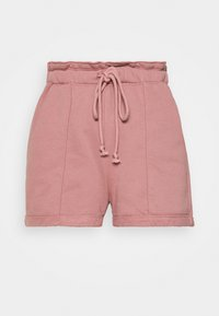Abercrombie & Fitch - PAPERBAG SUM LEOPARD  - Shorts - rose - 4