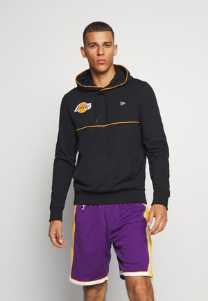 NBA LOS ANGELES LAKERS PIPING HOODY - Hoodie - black