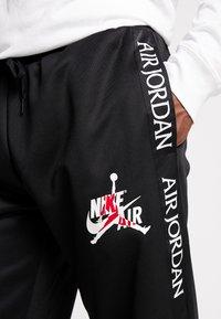 Jordan - TRICOT WARMUP PANT - Træningsbukser - black - 4