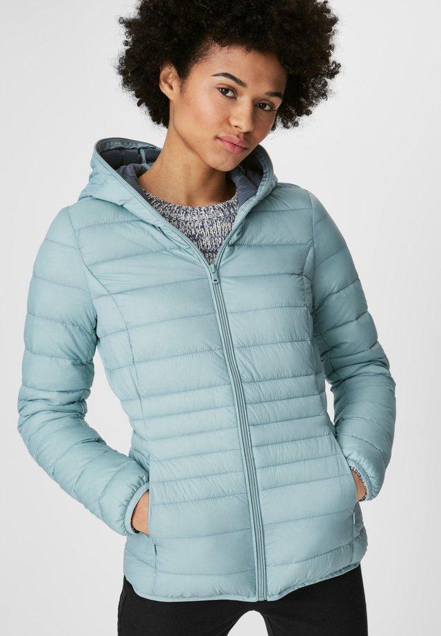 Down jacket - türkis