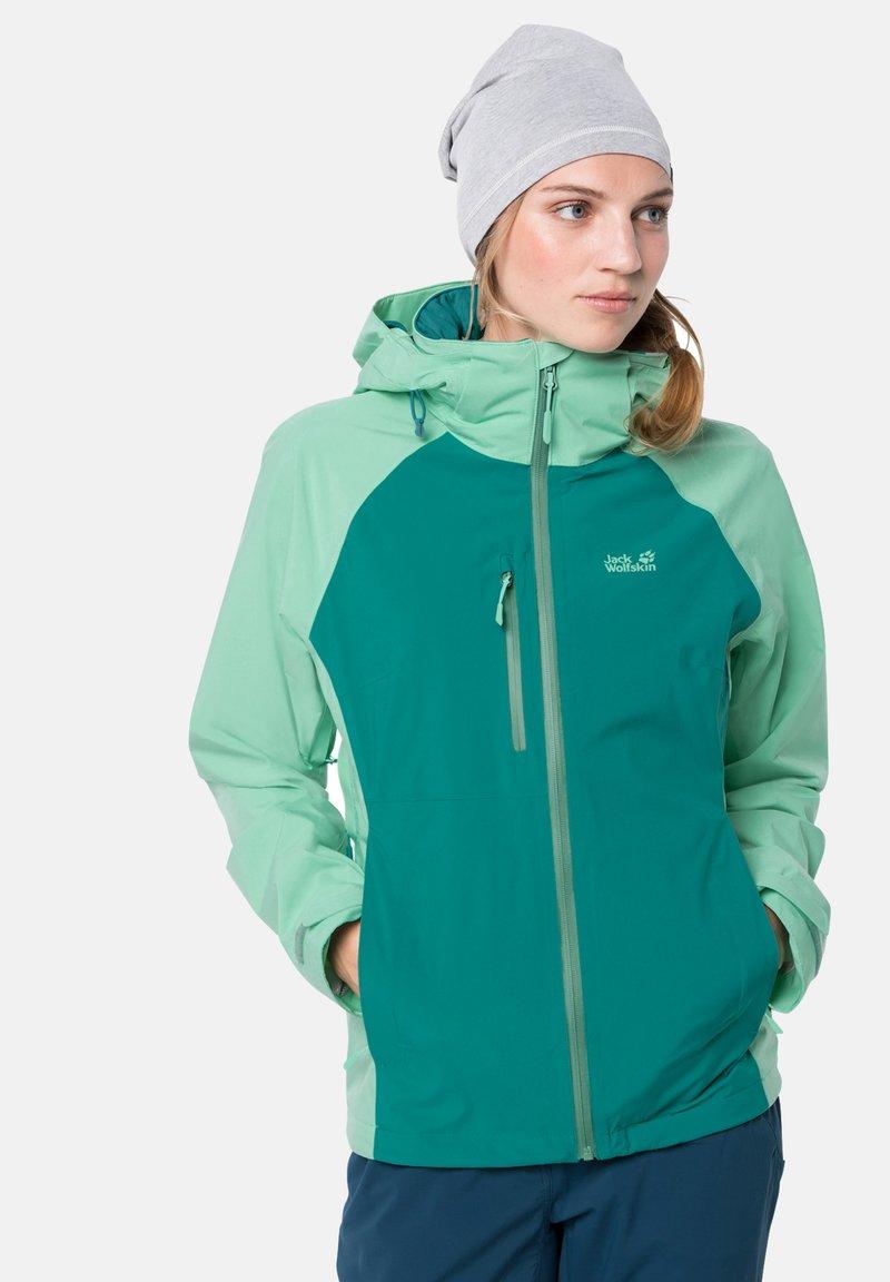 Jack Wolfskin - Hardshell jacket - emerald green