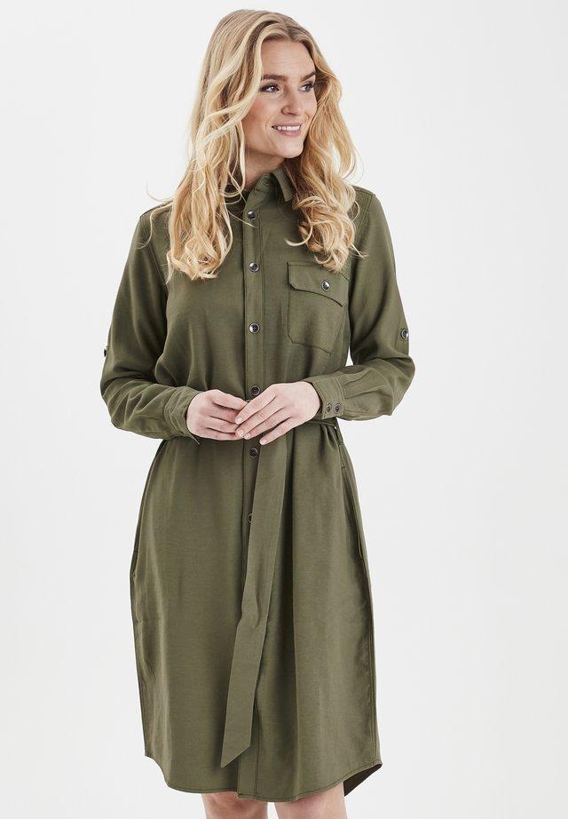 FRIPJUMP 2 DRESS - Sukienka koszulowa - hedge