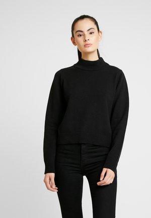 PAMELA REIF HIGH NECK  - Strikkegenser - black