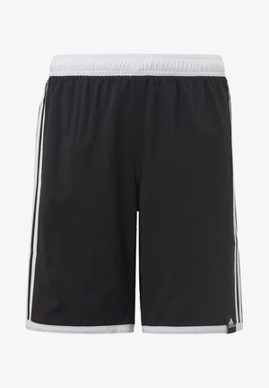 3 STRIPES PRIMEGREEN REGULAR SWIM SHORTS - Swimming shorts - black