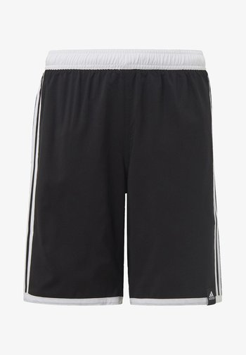 3 STRIPES PRIMEGREEN REGULAR SWIM SHORTS - Swimming shorts - black
