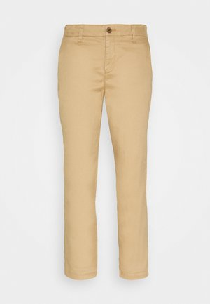 GIRLFRIEND - Pantalones chinos - beige